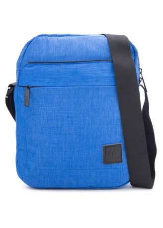 Blue color Messenger Bags . MJ by McJim Imported Suiting Bag -
