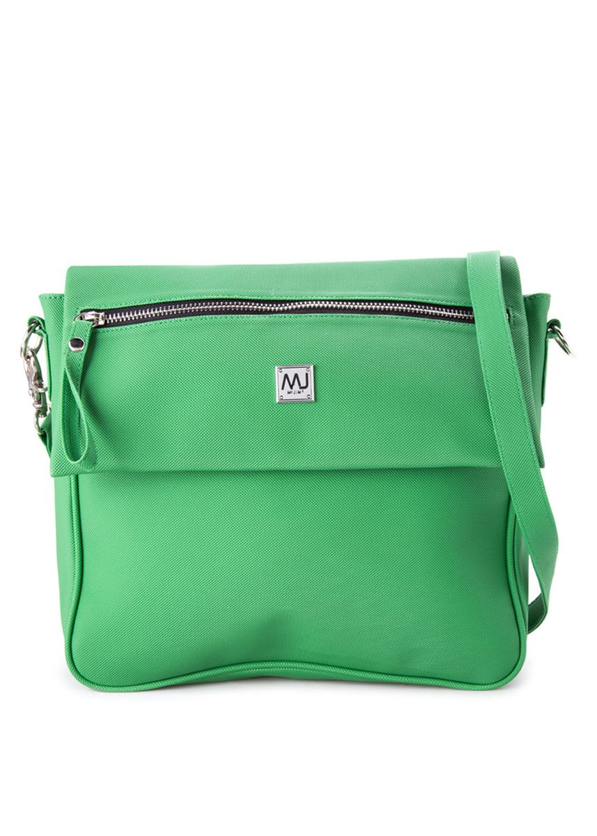 Green color Messenger Bags . Ladies Fashionable Shoulder Bag (LSBG16-G73 GR) -