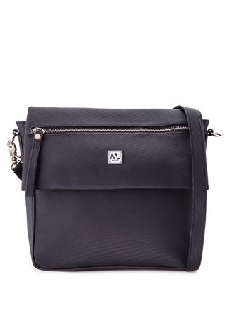 Black color Messenger Bags . Ladies Fashionable Shoulder Bag (LSBG16-G73 BK) -