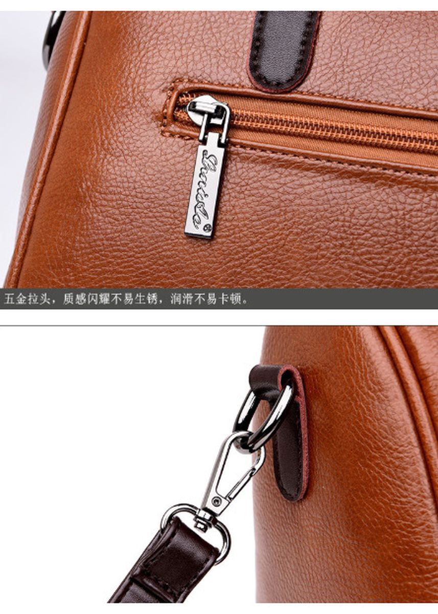 Pink color Sling Bags . New style simple and generous Leather Ladies Bag -