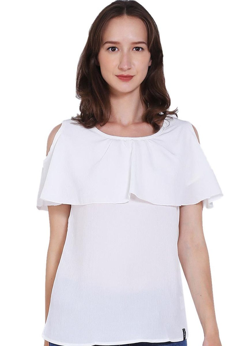 White color Tops and Tunics . X8 Dahlia Tops -