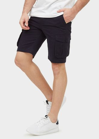 Black color Shorts & 3/4ths . Cargo Cotton Shorts -