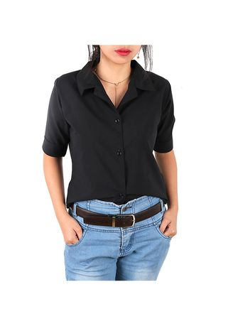 Tops and Tunics . Timeless Manila Sienna Polo Blouse -