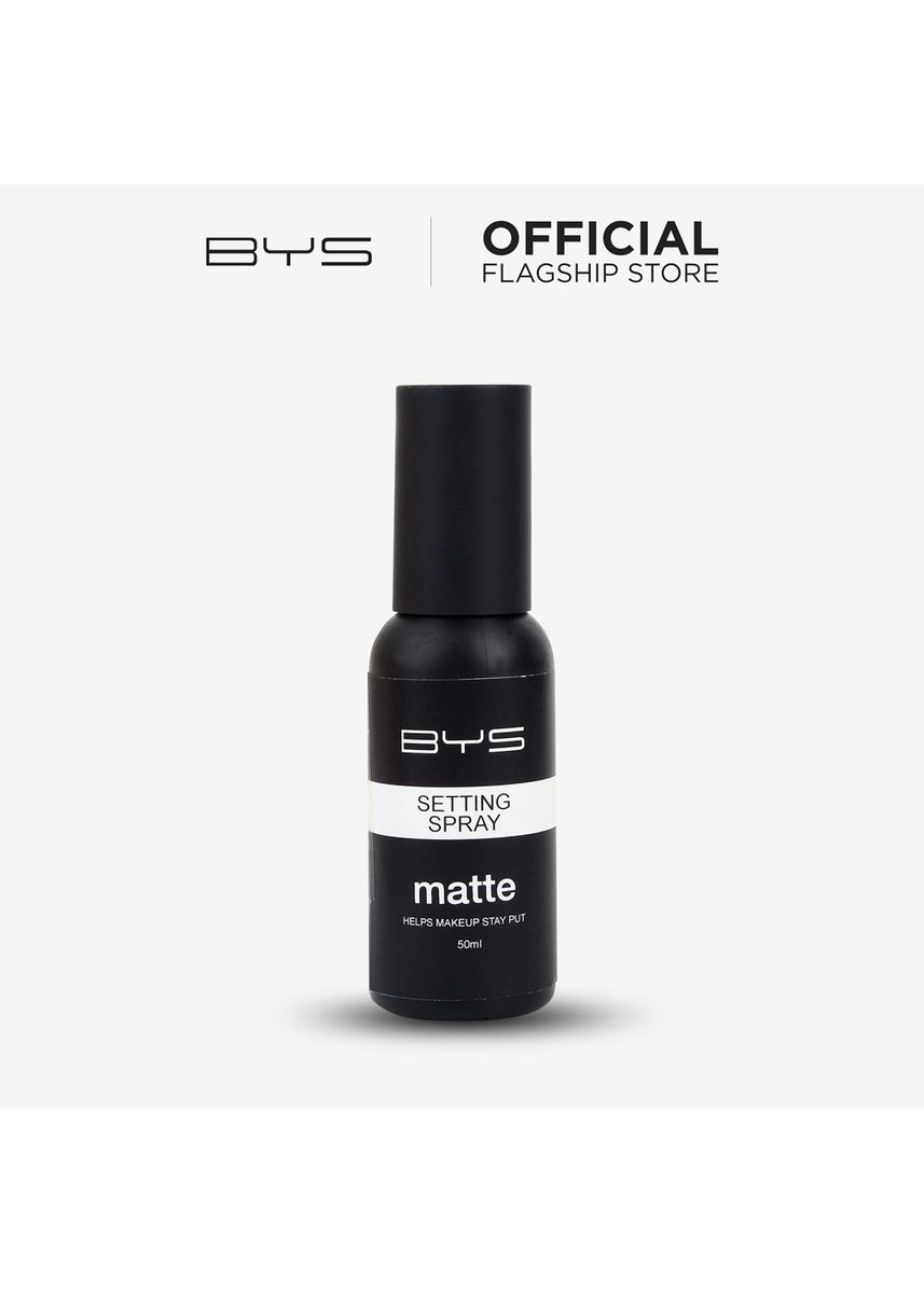 No Color color Face . BYS Setting Spray (Matte Finish) -