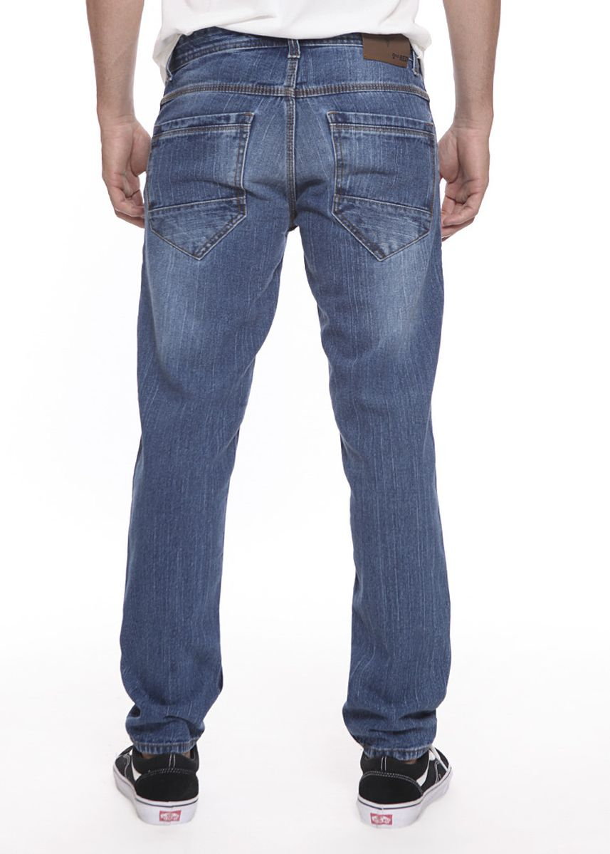 Cyan color Jeans . 2Nd RED Jeans Pria Relax FS Felix 121817  -