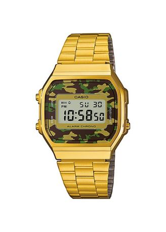 Gold color Digital . Casio Unisex Digital Watch -