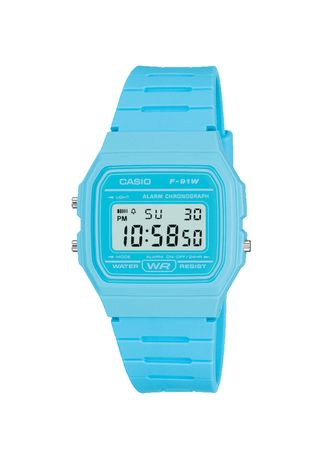 Blue color Digital . Casio Unisex Digital Watch -
