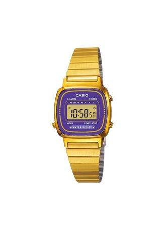 Gold color Digital . Casio Women's Digital Watch -