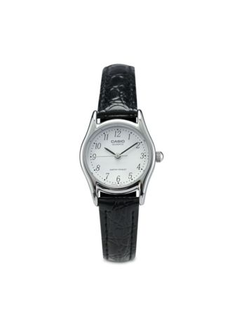 Black color Analog . Casio Quartz Women's Leather Analog Watch -