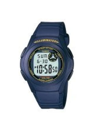 Black color Digital . Casio Dual Display Men's Resin Digital Watch -