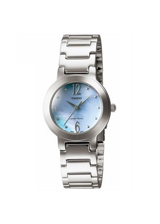 Silver color Analog . Casio Quartz Women's Analog Watch -