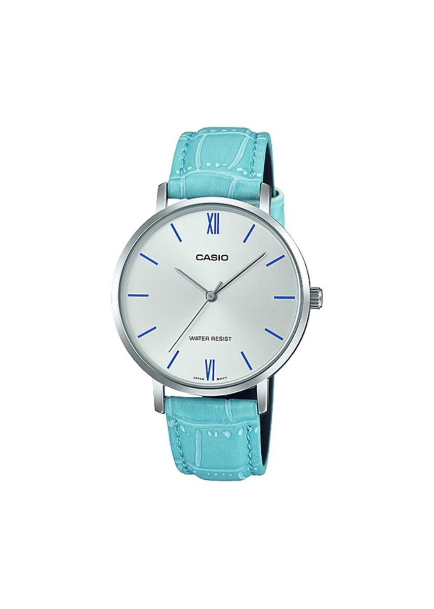 Blue color Analog . Casio Quartz Women's Analog Watch -