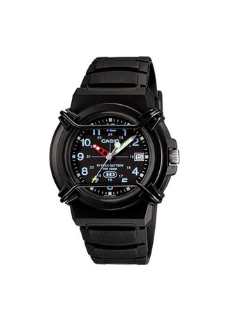 Black color Analog . Casio Quartz Men's Resin Analog Watch -