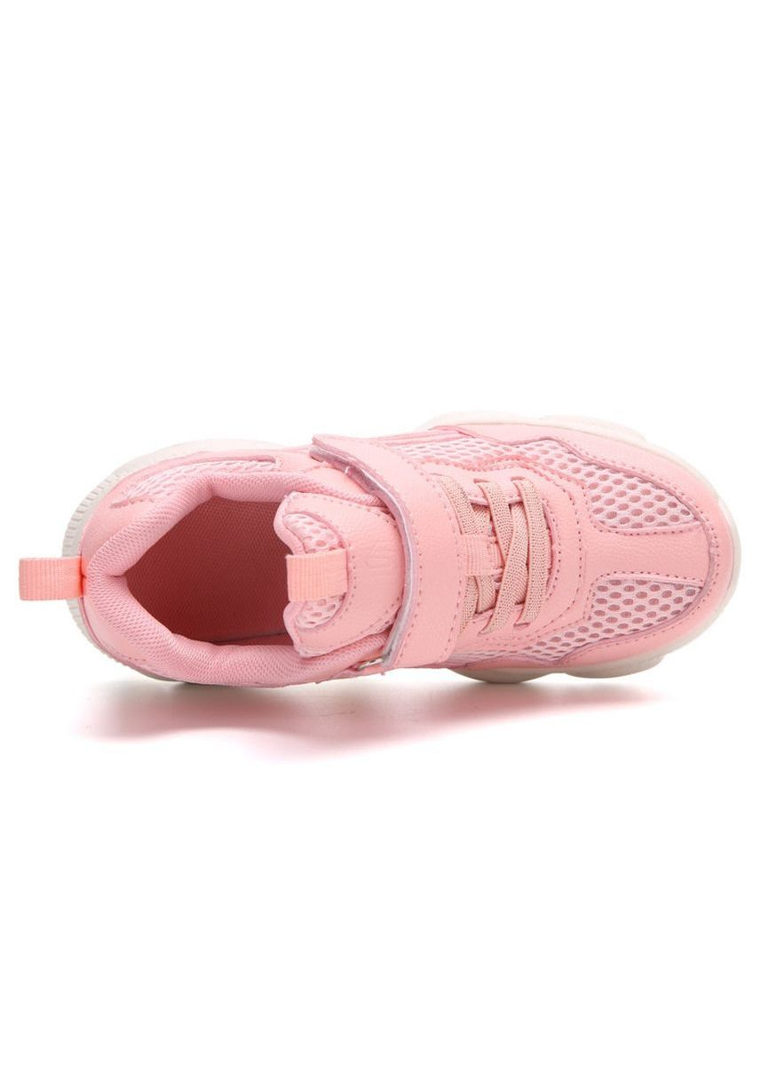 Pink color Footwear . Casual Summer New Boy And Girl Breathable Mesh Shoes -