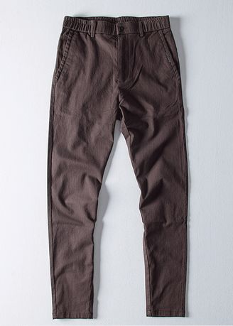 Casual Trousers and Chinos . Men's straight trousers -