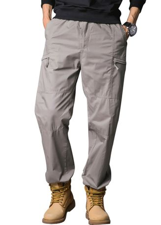 Casual Trousers and Chinos . Fashionable and loose men's overalls and casual pants -