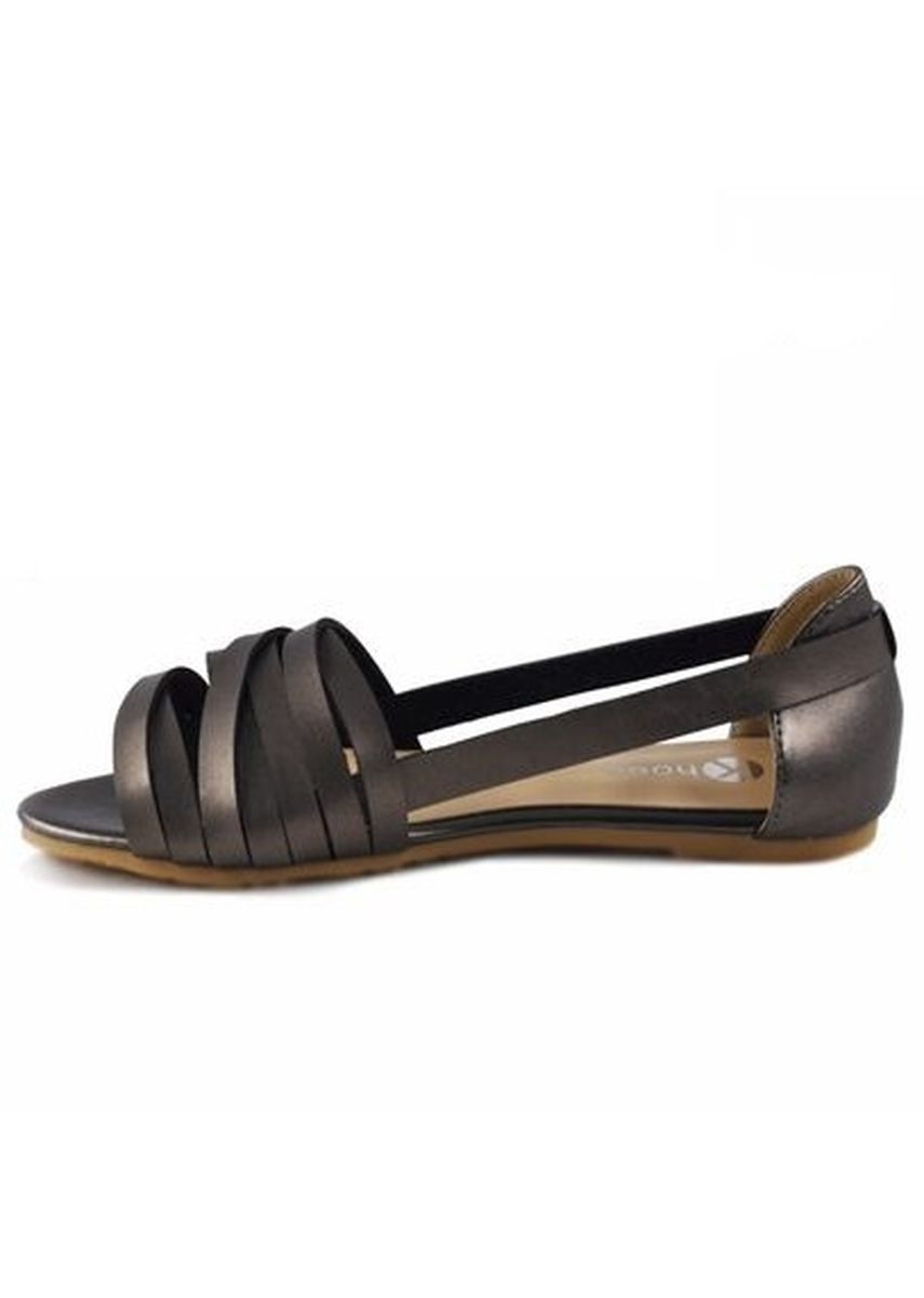 Grey color Sandals and Slippers . Khoee Fashion Sandals For Women  -