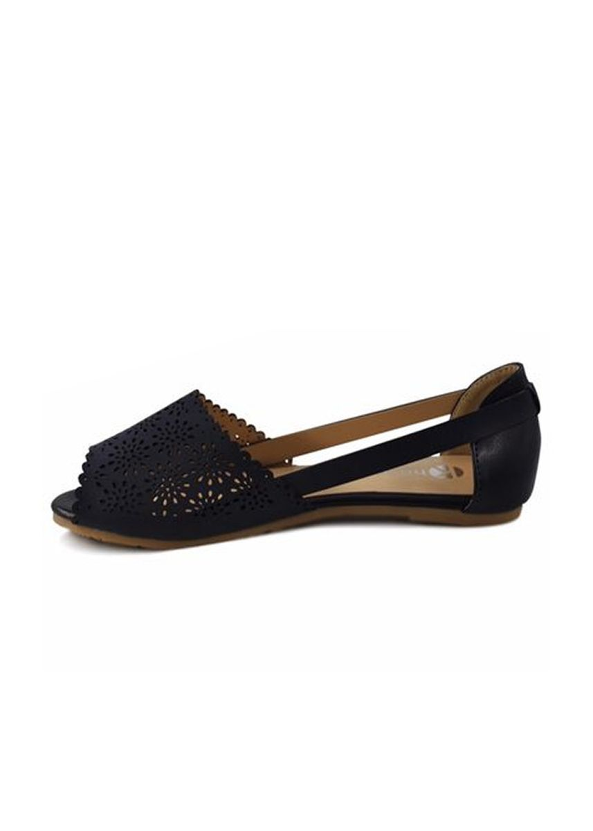 Navy color Sandals and Slippers . Khoee Fashion Sandals For Women -