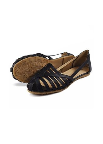 Black color Sandals and Slippers . Khoee Fashion Sandals For Women -
