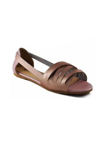 Pink color Sandals and Slippers . Khoee Fashion Sandals For Women -
