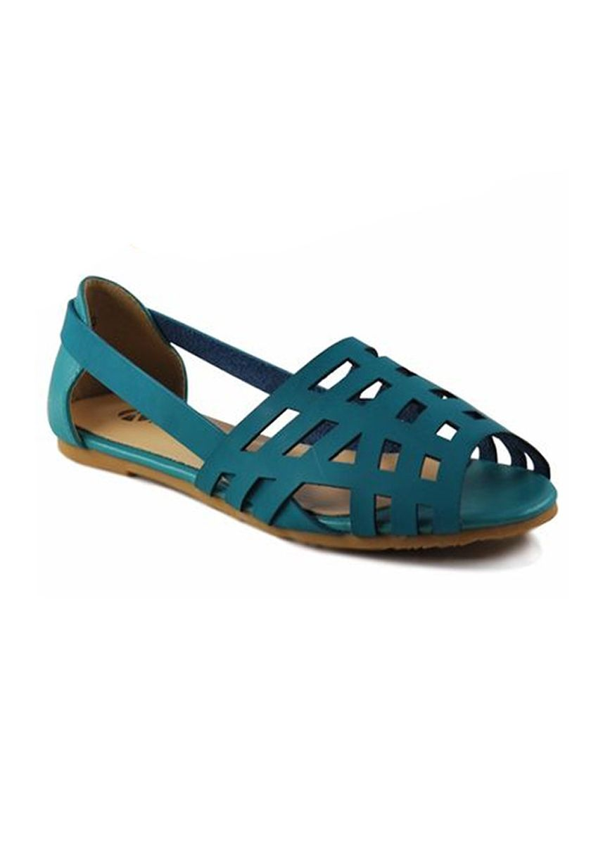 Blue color Sandals and Slippers . Khoee Fashion Sandals For Women -