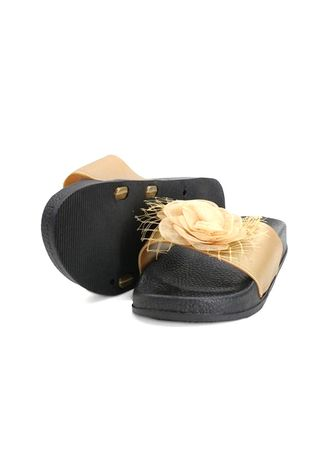 Brown color Sandals and Slippers . Khoee Sheryl Women's Slides Flat Slippers Sandals -