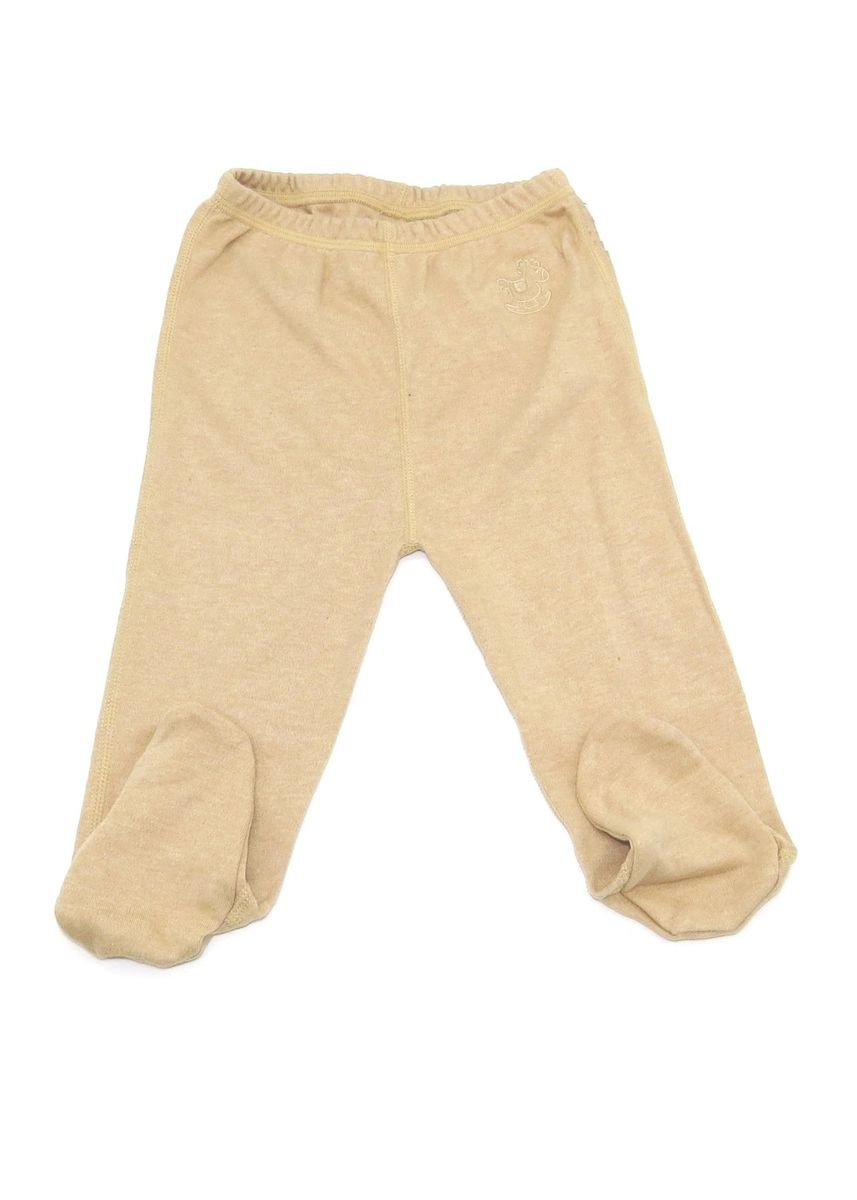 Brown color Bottoms . Baby Piper Long Pants with Socks -