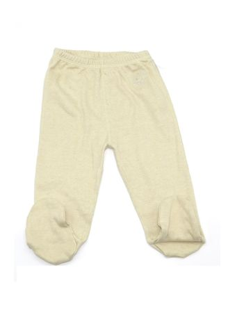 Green color Bottoms . Baby Piper Long Pants with Socks -