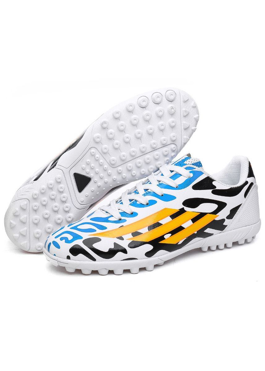White color Sports Shoes . Sneakers Comfortable Football Shoes -