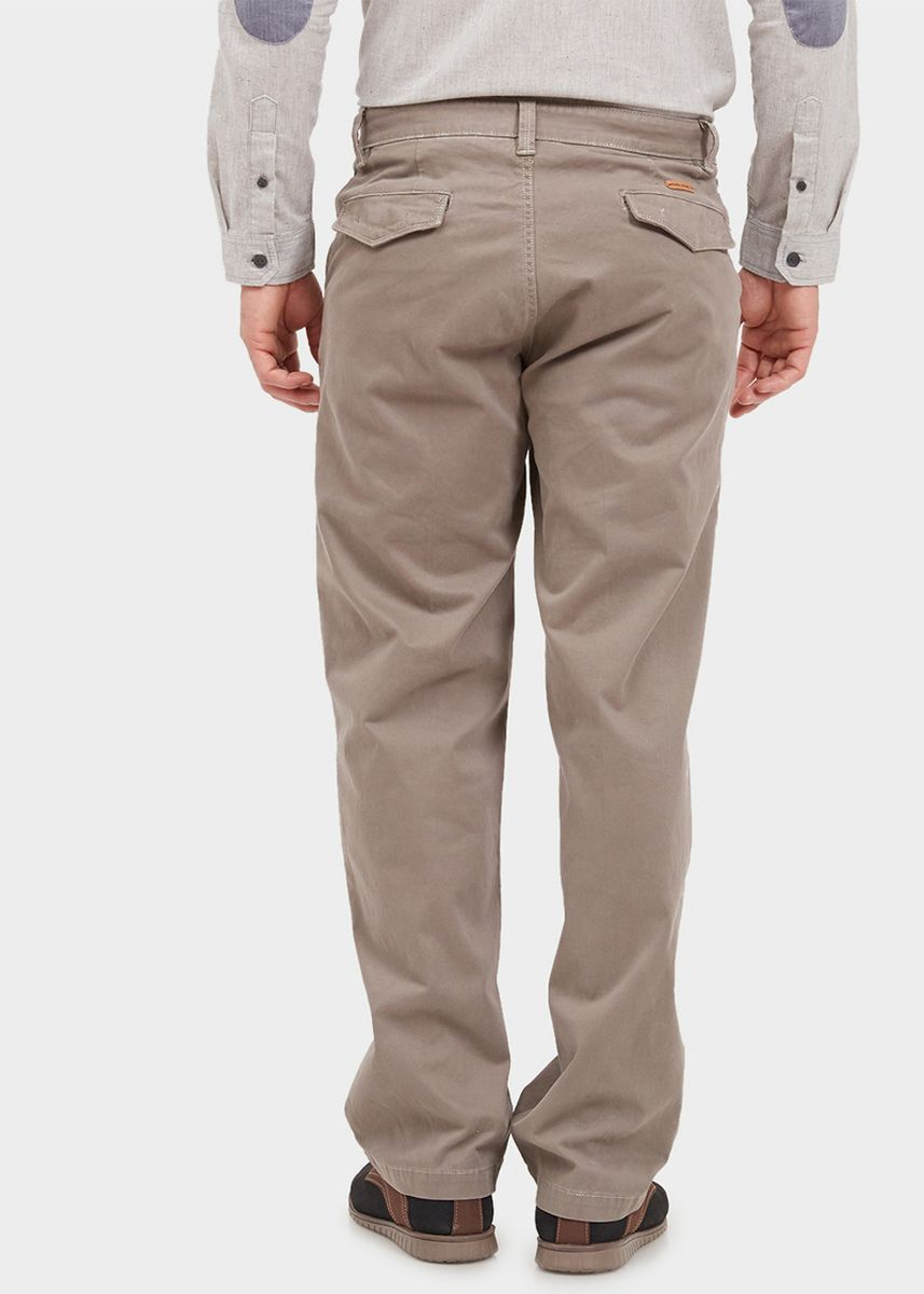Brown color Casual Trousers and Chinos . EMBA CLASSIC-Marroe Men's Pants in Brown -