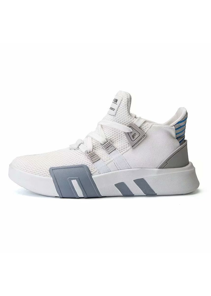 White color Sports Shoes . Heighten Platform Fashion Sneakers Men's Footwear -