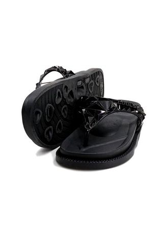Black color Sandals and Slippers . Khoee Veronica Women's Slides Flat Slippers Sandals -