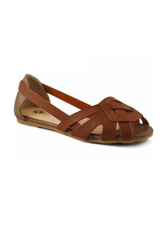 Brown color Sandals and Slippers . Khoee Women's Fashion Sandals -