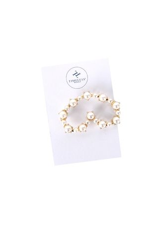 White color Hair Accessories . Timeless Manila Camila Heart-shaped Hair Pin -