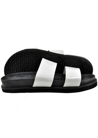 White color Sandals and Slippers . Khoee Women's Flip Flop Slippers -
