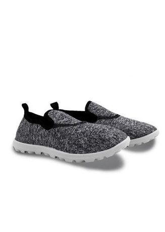 Black color Casual Shoes . Tanggo Women's Fashion Slip On Shoes -