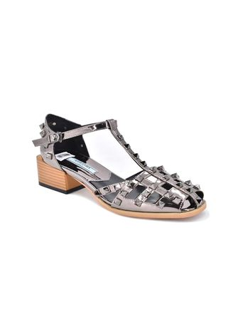Silver color Sandals and Slippers . Khoee Women's Fashion Sandals -