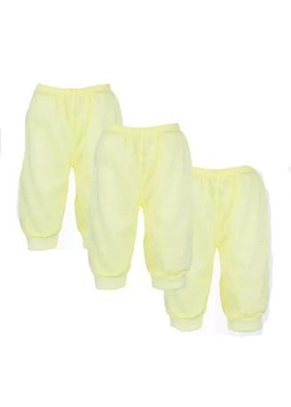 Yellow color Bottoms . Baby Boom 3-Piece Baby Pajama Set -