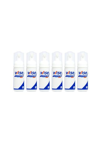 No Color color Personal Care . Wise Toothfoam Sakura Mint 45 มล. (6 ขวด) -