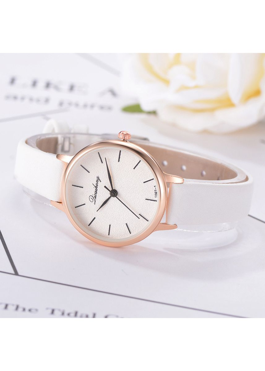 White color Analog . Luxury diamond belt calendar quartz watches for men to send diamond bracelets -