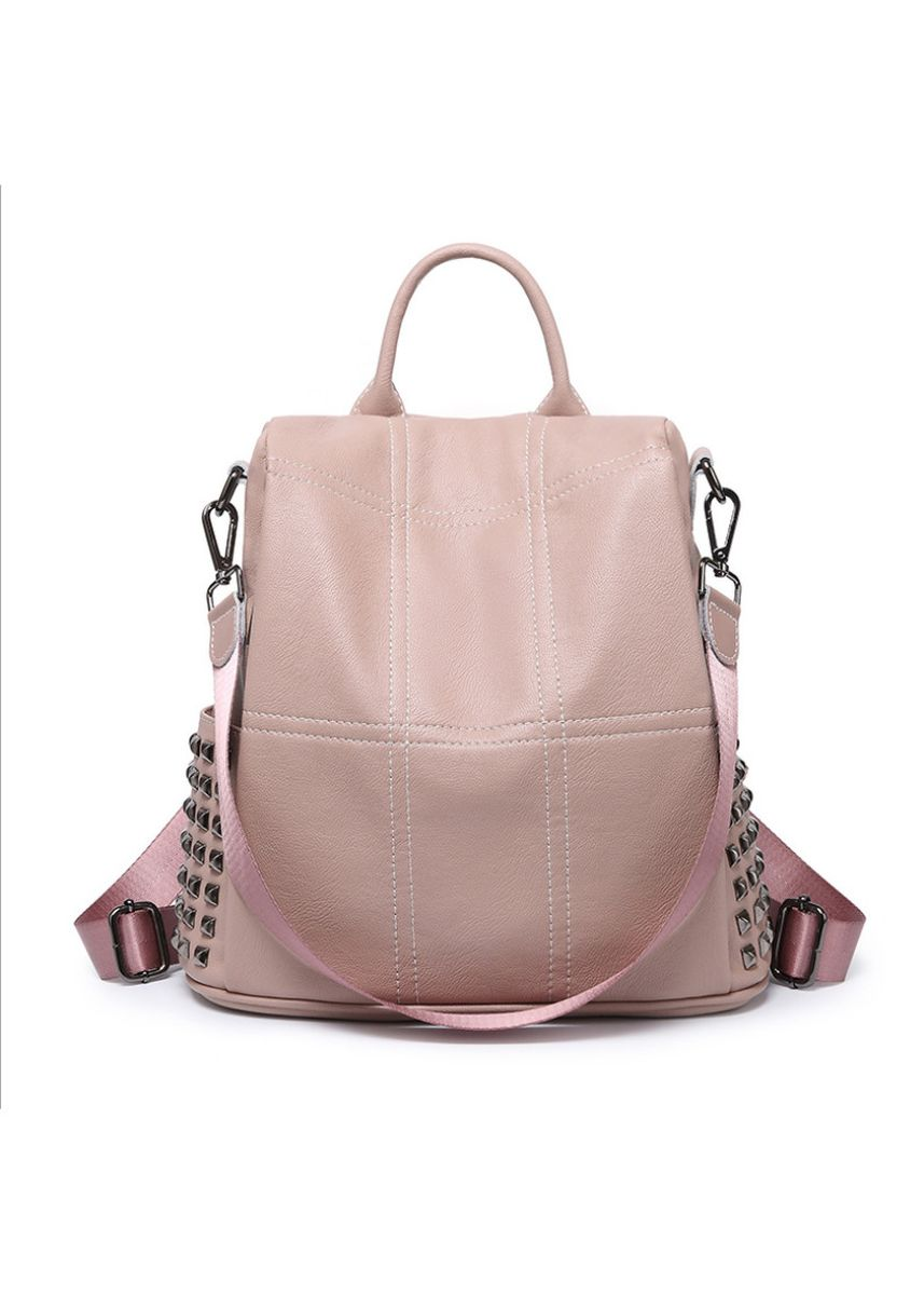 Pink color Backpacks . Backpack women's casual -