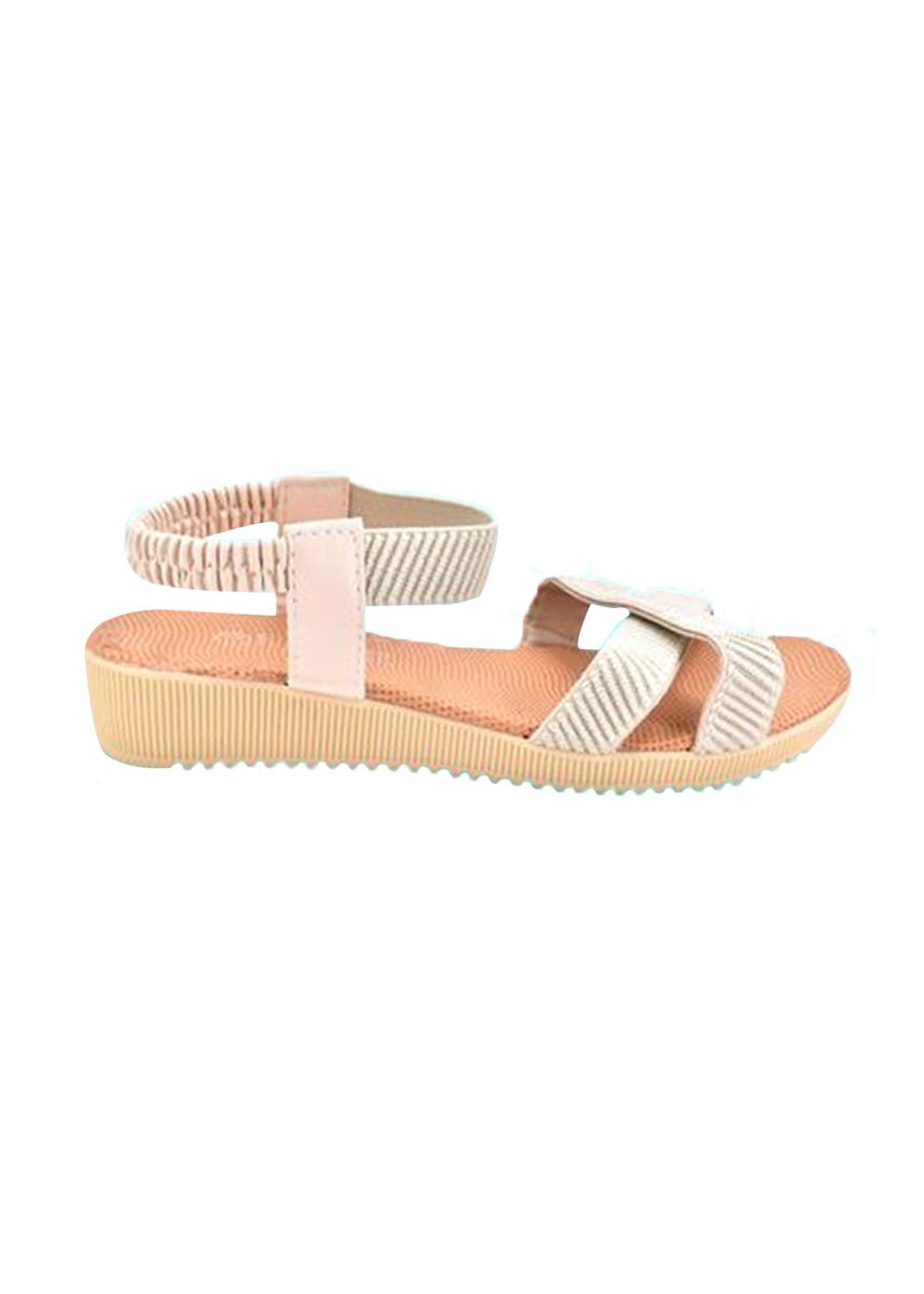 Beige color Sandals and Slippers . Khoee Women's Flat Sandals -
