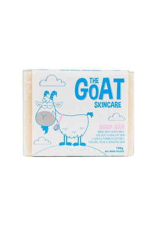 Blue color Body Bars . The Goat Skincare Soap Bar Original 100g -