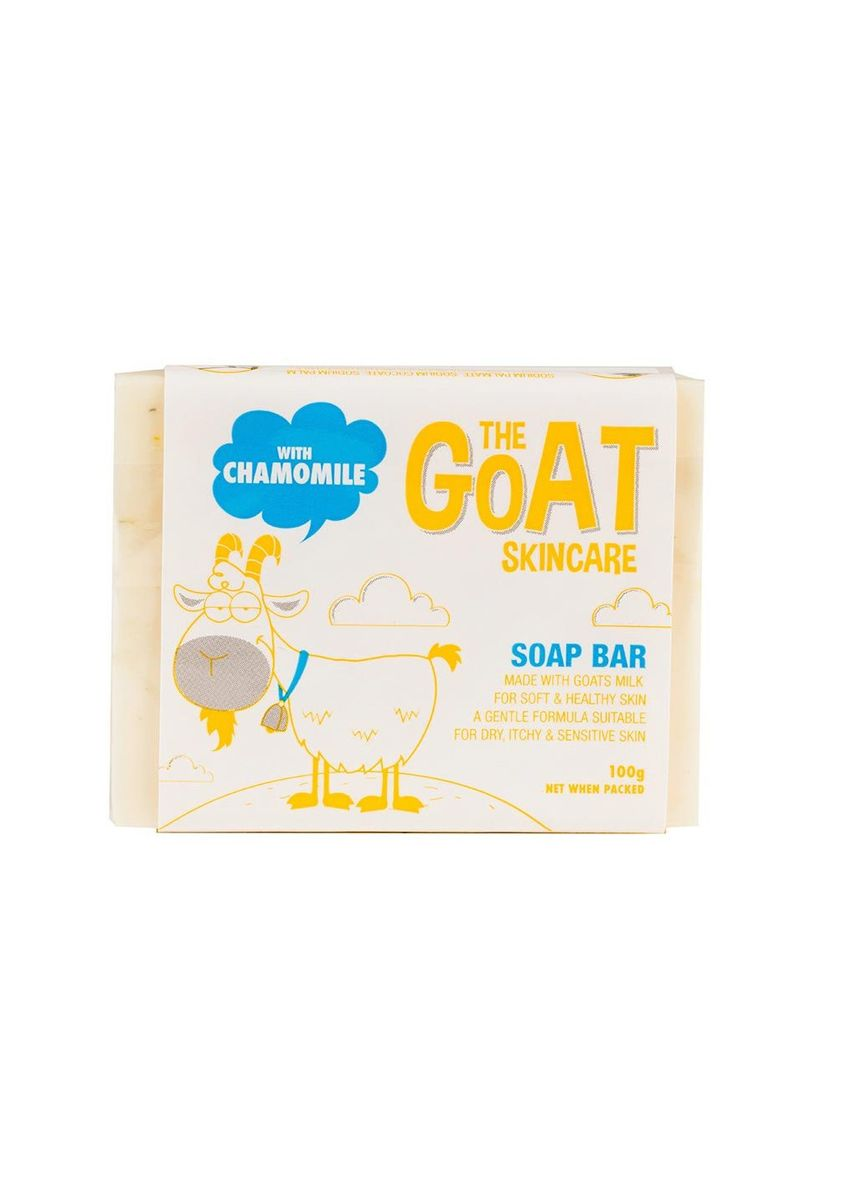 Orange color Body Bars . The Goat Skincare Soap Bar With Chamomile Extract 100g -
