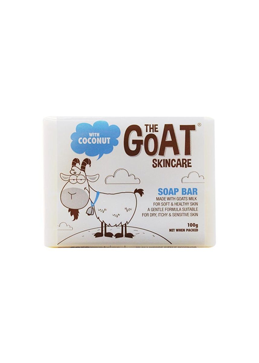 Brown color Body Bars . The Goat Skincare Soap Bar With Coconut 100g -