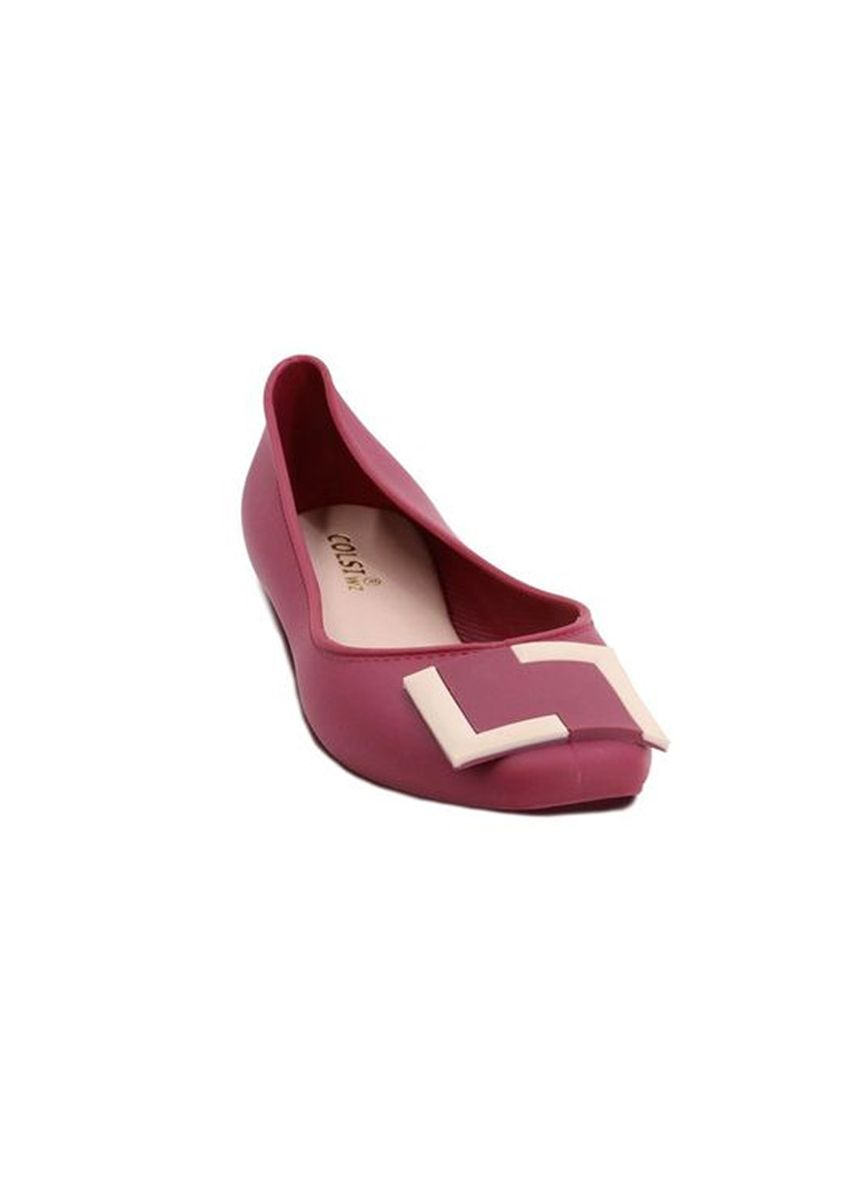 Maroon color Sandals and Slippers . Khoee Cameron Women's Slides Flat Slippers Sandals -