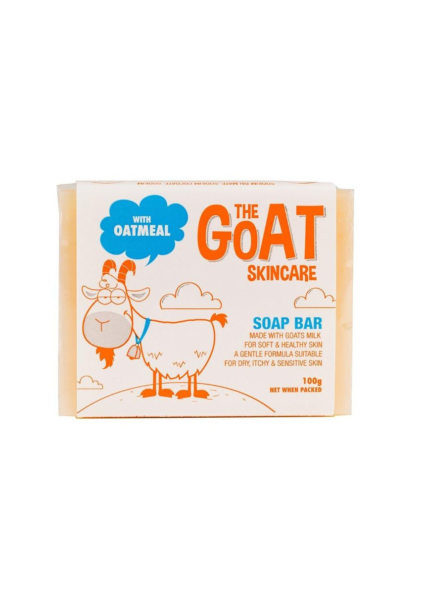 Gold color Body Bars . The Goat Skincare Soap Bar With Oatmeal 100g -
