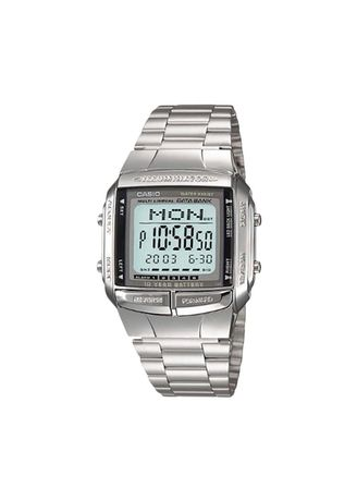 Silver color Digital . Casio Jam Tangan Pria DB-360-1ADF -