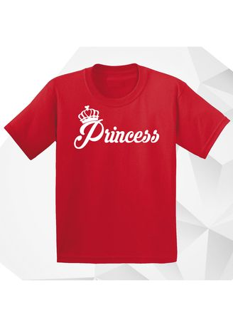 Red color Tops . AC Prints Kid's Printed T-shirt -
