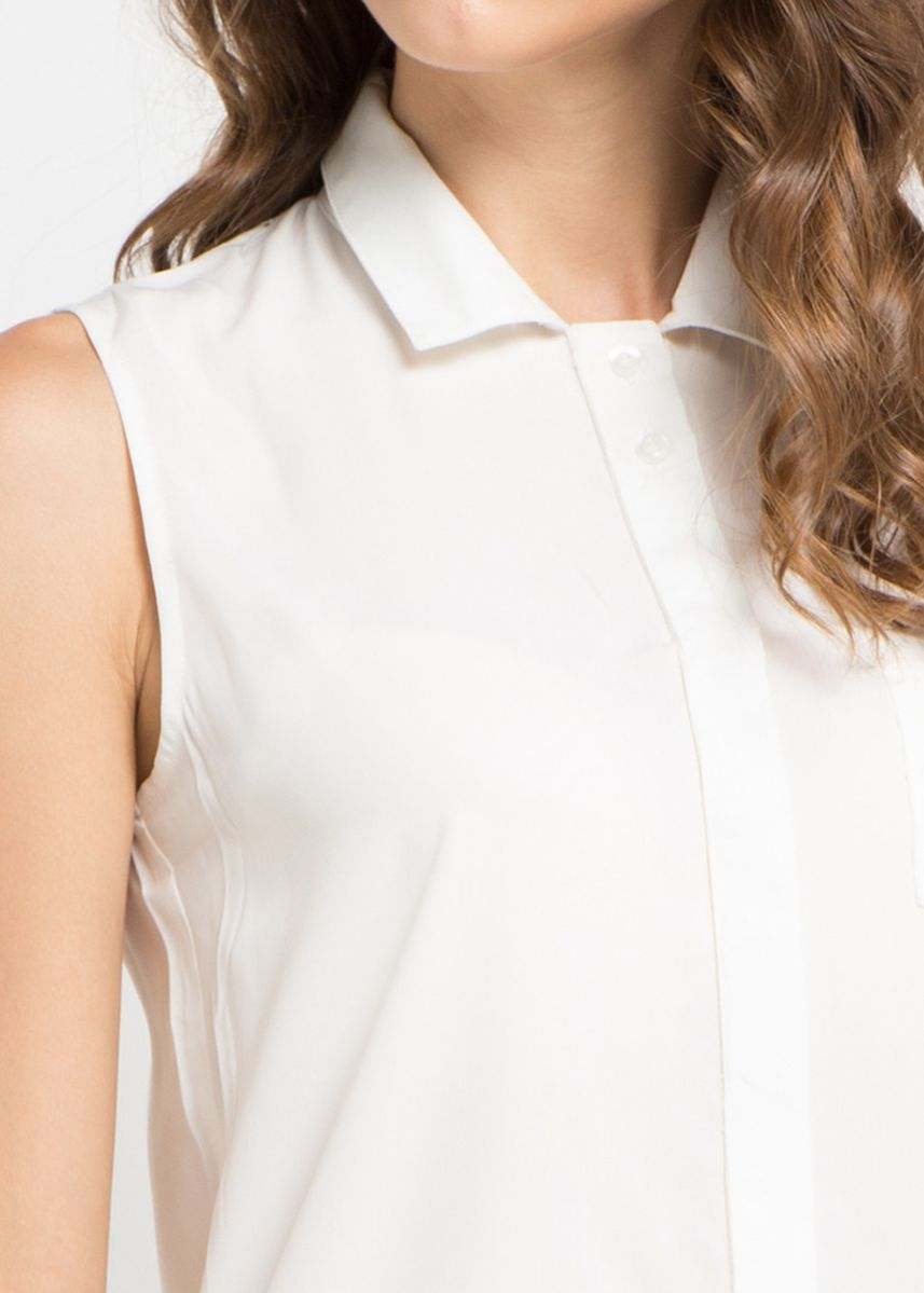 White color Tops and Tunics . X8 Jacey Blouses -